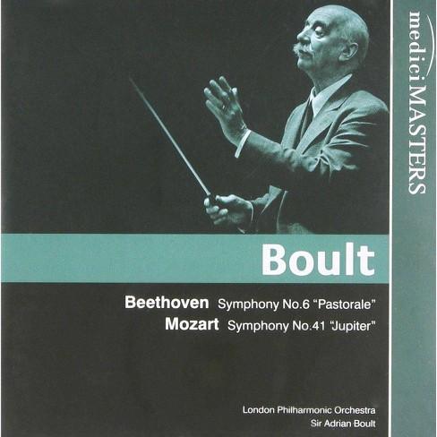 London Philharmonic Orchestra - Beethoven/Mozart: Symphony No 6, Symphony No 41 (CD) - image 1 of 1