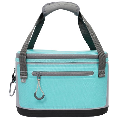 Penguin Coolers 6 Can Premium Lunch Tote - Teal - image 1 of 4