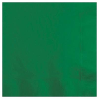 50ct Emerald Green Disposable Napkins