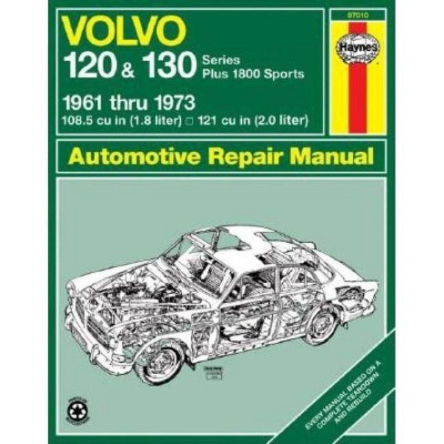 Volvo 120 and 130 Series and 1800 Sports, 1961-1973 - (Haynes Manuals) 2 Edition by  John Haynes - image 1 of 1