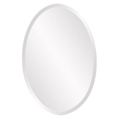 Oval Decorative Wall Mirror - Howard Elliott
