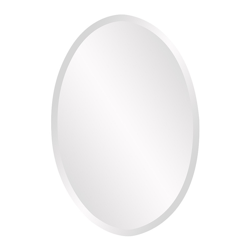 Image of Oval Decorative Wall Mirror - Howard Elliott