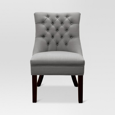Winslow Tufted back Chair Gray - Threshold™