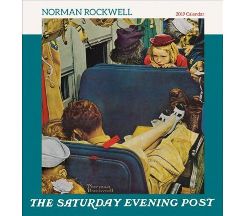 Norman Rockwell The Saturday Evening Post 2019 Calendar -  (Paperback) - image 1 of 1