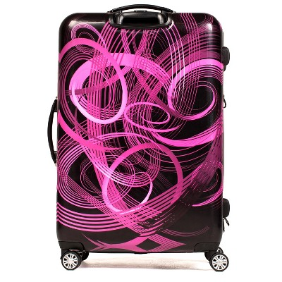 "FUL 24"" Hardside Spinner Suitcase - Atomic Pink"