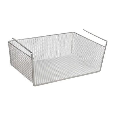 Design Ideas Mesh Undershelf Basket – Mesh Metal Storage Bin Organizer
