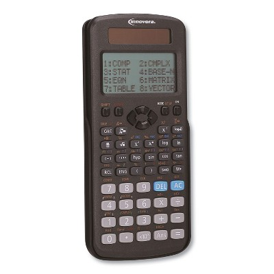 Innovera Advanced Scientific Calculator 252 Functions 12-Digit LCD Two Display Lines 15970