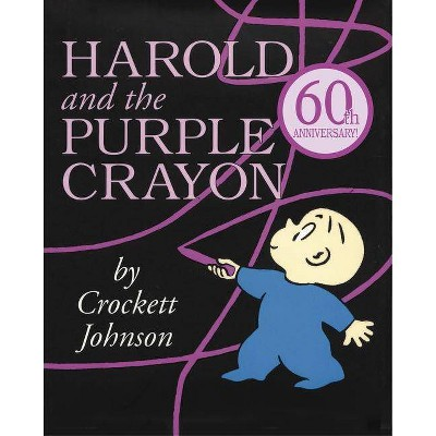 Harold and the Purple Crayon - (Purple Crayon Books)by Crockett Johnson (Paperback)
