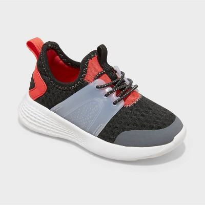 Toddler Cody Mesh Slip-On Apparel Sneakers - Cat & Jack™ Black