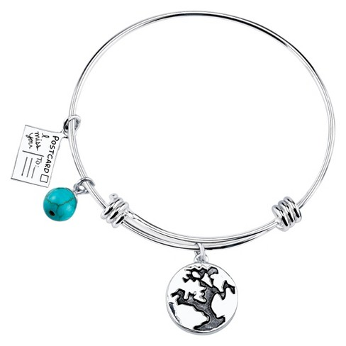 "Stainless Steel ""Friends"" Expandable Bracelet - 8"" - image 1 of 2"