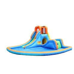 Bounceland Water Slide with Large Pool, Kids Unisex
