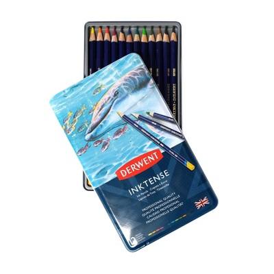 12ct Inktense Pencil Set - Derwent