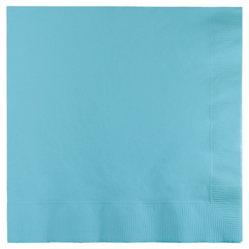 50ct Pastel Blue Disposable Napkins - image 1 of 1