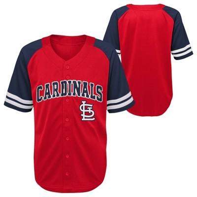 MLB St. Louis Cardinals Button-Down Jersey - 18M