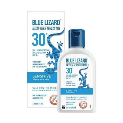 Blue Lizard Sensitive Sunscreen  Lotion - SPF 30