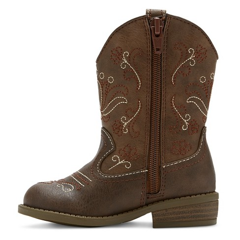 5fb506856f2 Toddler Girls  Chloe Classic Cowboy Western Boots - Cat   Jack™   Target