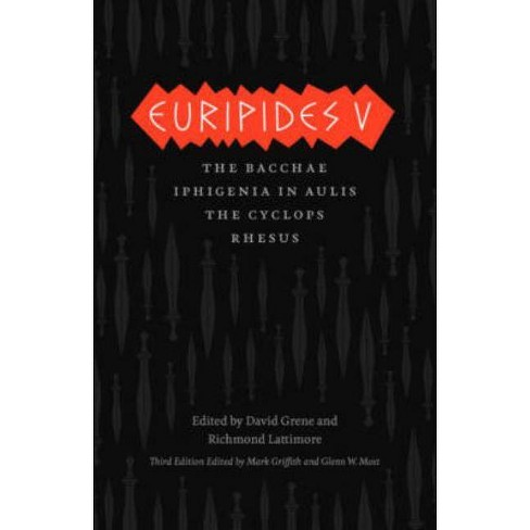 Euripides V - (Complete Greek Tragedies) 3 Edition (Paperback) - image 1 of 1