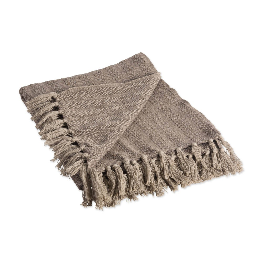 50 34 X60 34 Solid Textured Throw Blanket Stone Design Imports