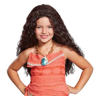 Kids' Deluxe Disney Moana Halloween Wig