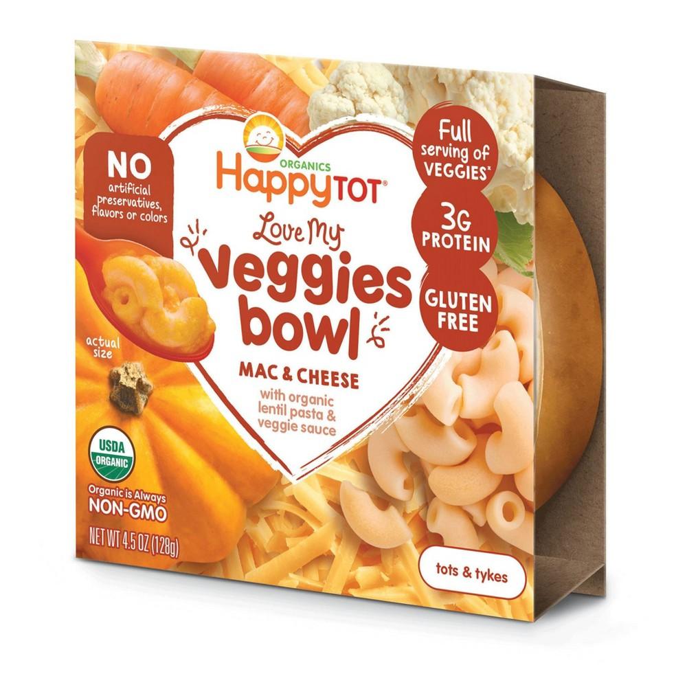 HappyTot Toddler Fiber & Protein Bowl Veggie Mac & Cheese - 4.5oz