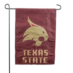NCAA Applique Garden Flag