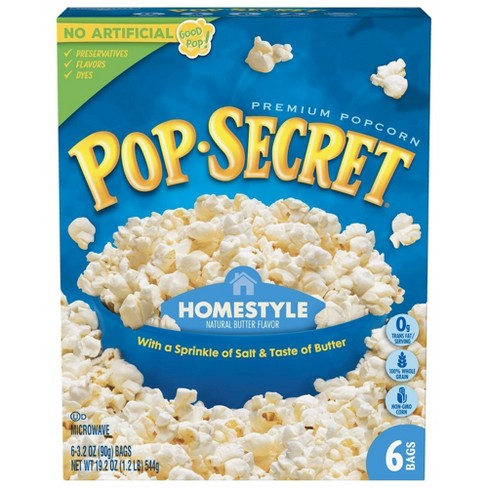 Pop Secret Homestyle Microwave Popcorn - 6ct - image 1 of 4