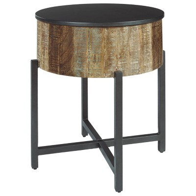 Nashbryn End Table Gray/Brown - Signature Design by Ashley