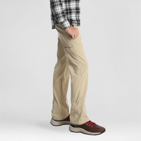 e54203a1 Wrangler Boys' Kingman Straight Outdoor Pants - Beige : Target
