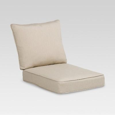 Gentil 2pc Rolston Outdoor Seat U0026 Back Replacement Chair/Loveseat Cushion Set    Grand Basket