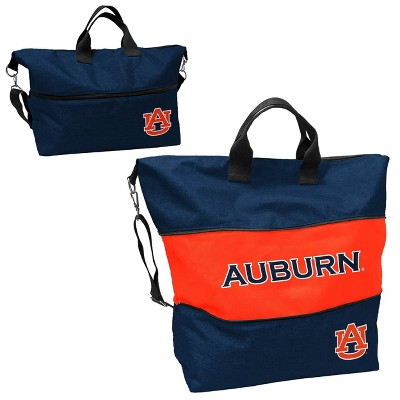 NCAA Auburn Tigers Crosshatch Expandable Tote