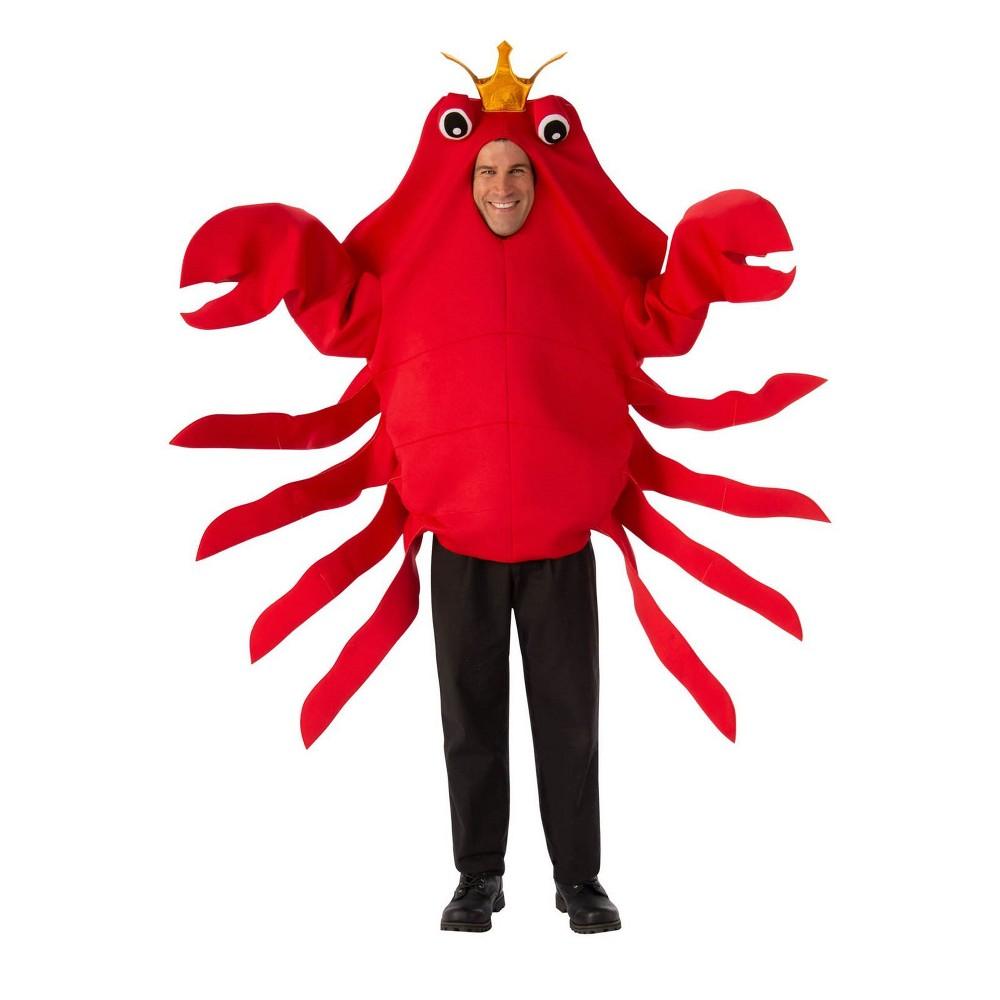 Adult King Crab Halloween Costume, Adult Unisex, Multi-Colored