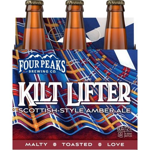 Four Peaks Kilt Lifter Scottish Style Ale Beer - 6pk/12 fl oz Bottles - image 1 of 1