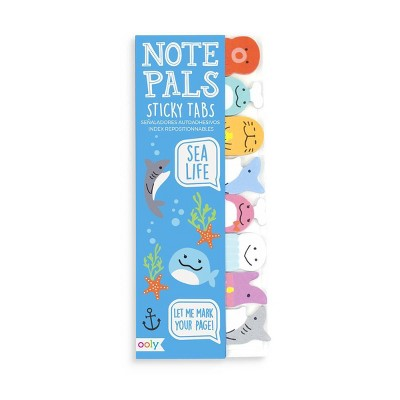 Note Pals Sticky Note Pad - Sea Life