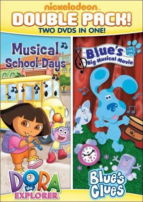 Dora the Explorer: Musical School Days/Blue's Clues: Blue's Big Musical Movie (DVD)