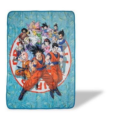 Just Funky Dragon Ball Super Heroes 45x60 Inch Fleece Throw Blanket