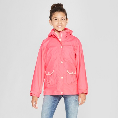 5d811ddc0ce Girls  3 In 1 Rain Jacket - Cat   Jack™ Pink   Target
