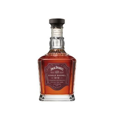 Jack Daniel's 4yr Single Barrel Tennessee Rye Whiskey - 750ml Bottle