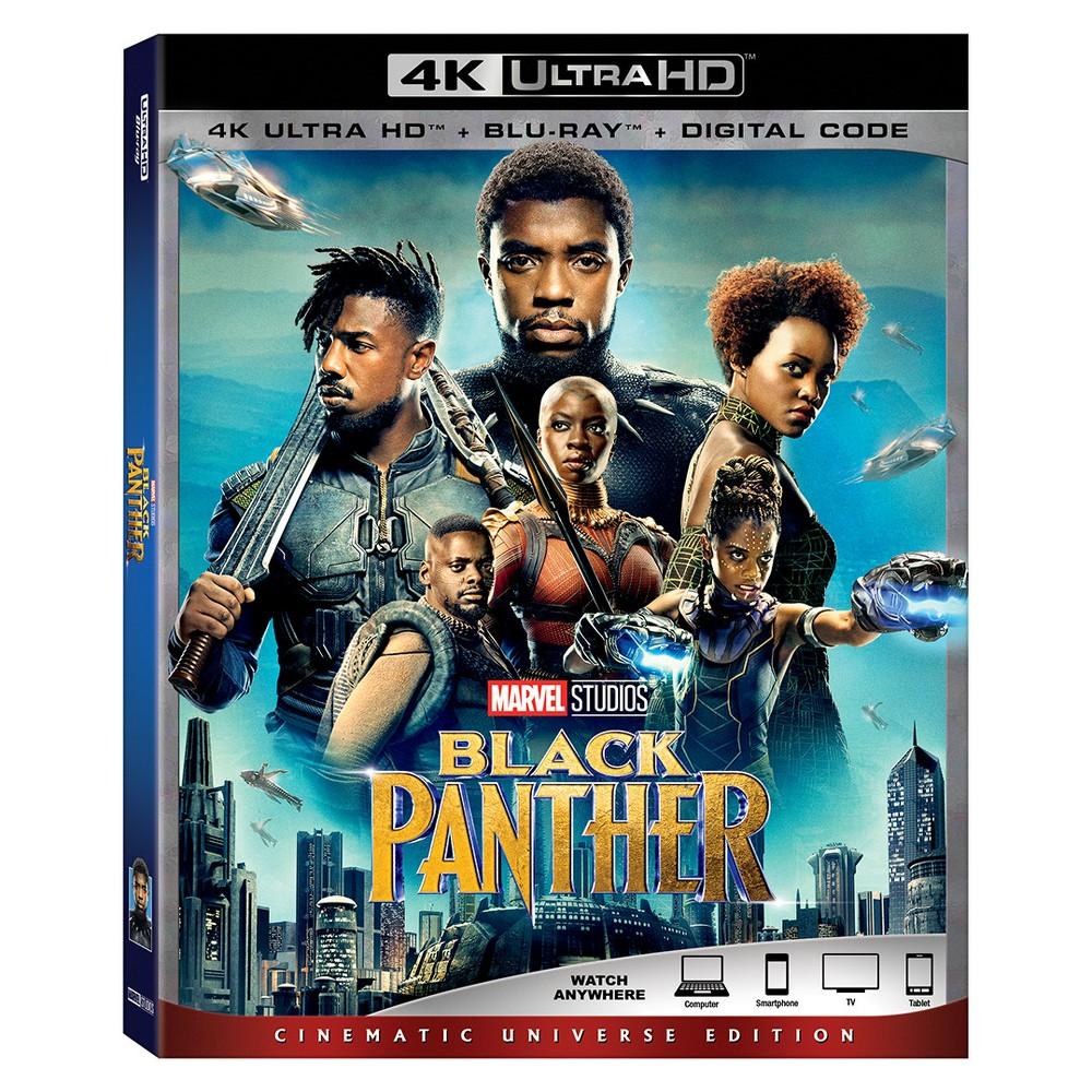 The Black Panther 4k Uhd Blu Ray Digital