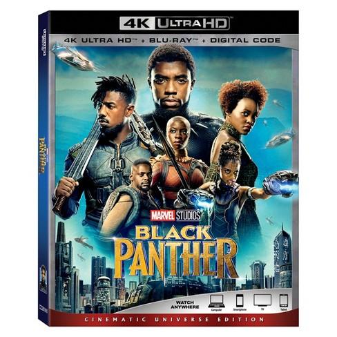 The Black Panther 4k Uhd Blu Ray Digital Target