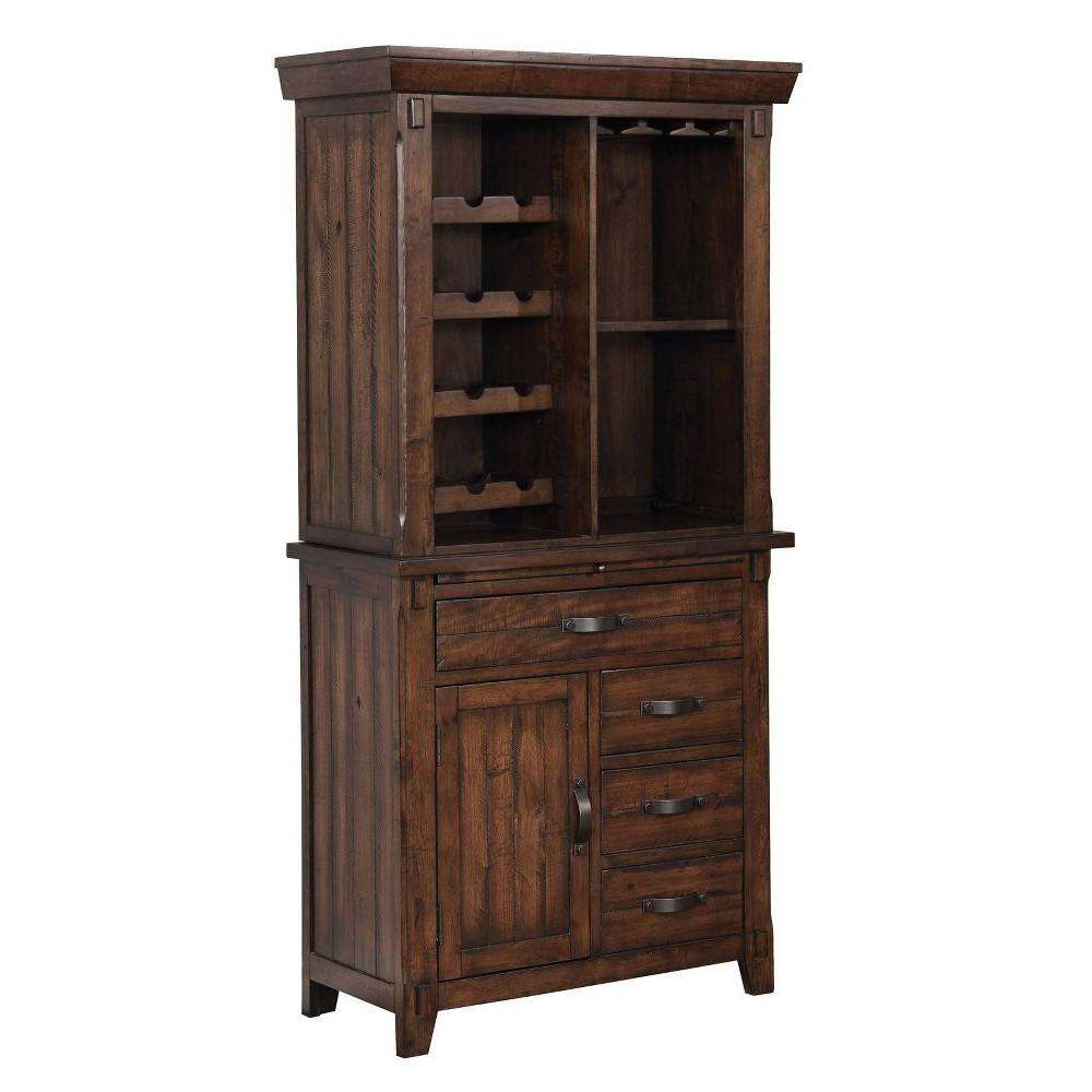 72 Drago Wine Cabinet Cherrywood - Sun & Pine