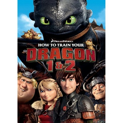 How to Train Your Dragon 1&2 (DVD)