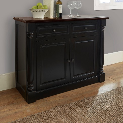 Shelby Buffet Black - Crosley® - image 1 of 11