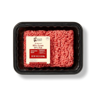 All Natural 85/15 Ground Beef - 1lb - Good & Gather™