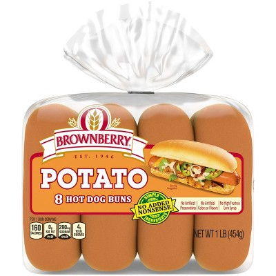 Brownberry Potato Hot Dog Buns - 15oz