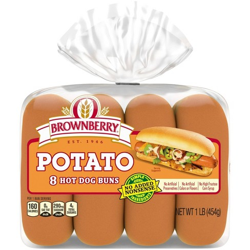 Brownberry Potato Hot Dog Buns - 15oz - image 1 of 4