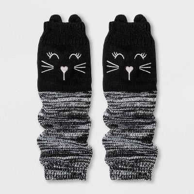 Girls' Legwarmers - Cat & Jack™ Black One Size