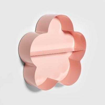 Metal Flower Shelf Pink - Pillowfort™