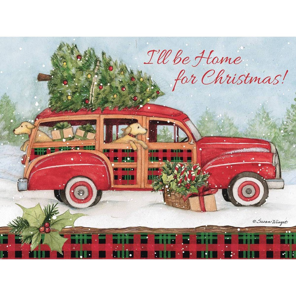 Image of 12ct Home for Christmas Boxed Christmas Cards