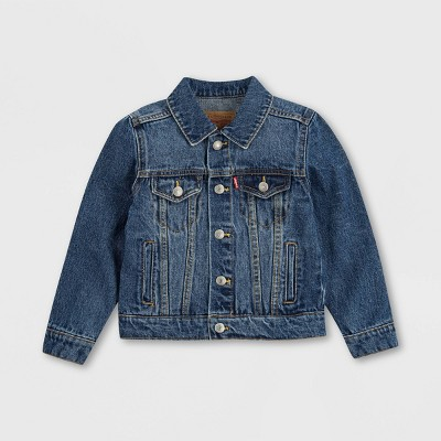 Levi's® Toddler Denim Trucker Jacket - Bristol Medium Wash