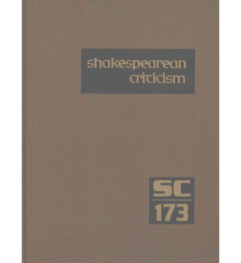 Shakespearean Criticism (Hardcover) - image 1 of 1